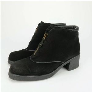 AQUATALIA by Marvin K Suede Ankle Boots Booties